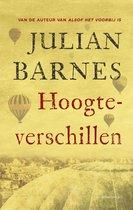 Boek cover Hoogteverschillen van Julian Barnes