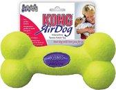 Kong Air Bone Medium 1 St - Piepend Speelgoed - 12 cm x 130 mm x 44 mm - Groen