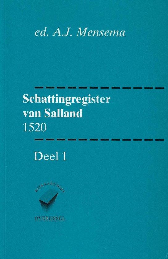 1520 dl. 1 Schattingsregister van salland - A.J. Mensema  