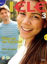 Agencia ELE 3 libro de clase + CD audio