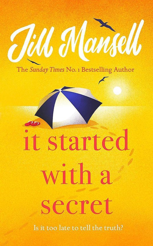 Omslag van It Started with a Secret The unmissable Sunday Times bestseller from author of MAYBE THIS TIME