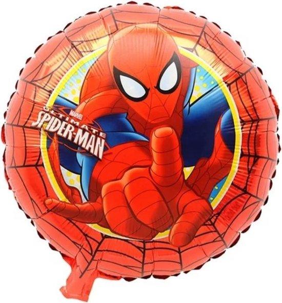 Spiderman 18 Inch Folie Ballon 1+1 GRATIS