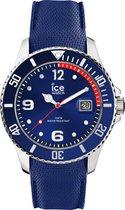 Ice-Watch Ice Steel IW015770 Horloge - siliconen - blauw - Ø 40 mm