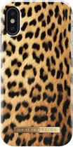 iDeal of Sweden - iPhone X Hoesje - Fashion Back Case Wild Leopard