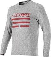 Alpinestars Merino Ls Jersey-Melange Gray Red - Maat XL
