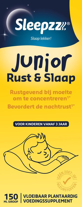 Sleepzz Junior Rust en Slaap Voedingssupplement - 150 ml