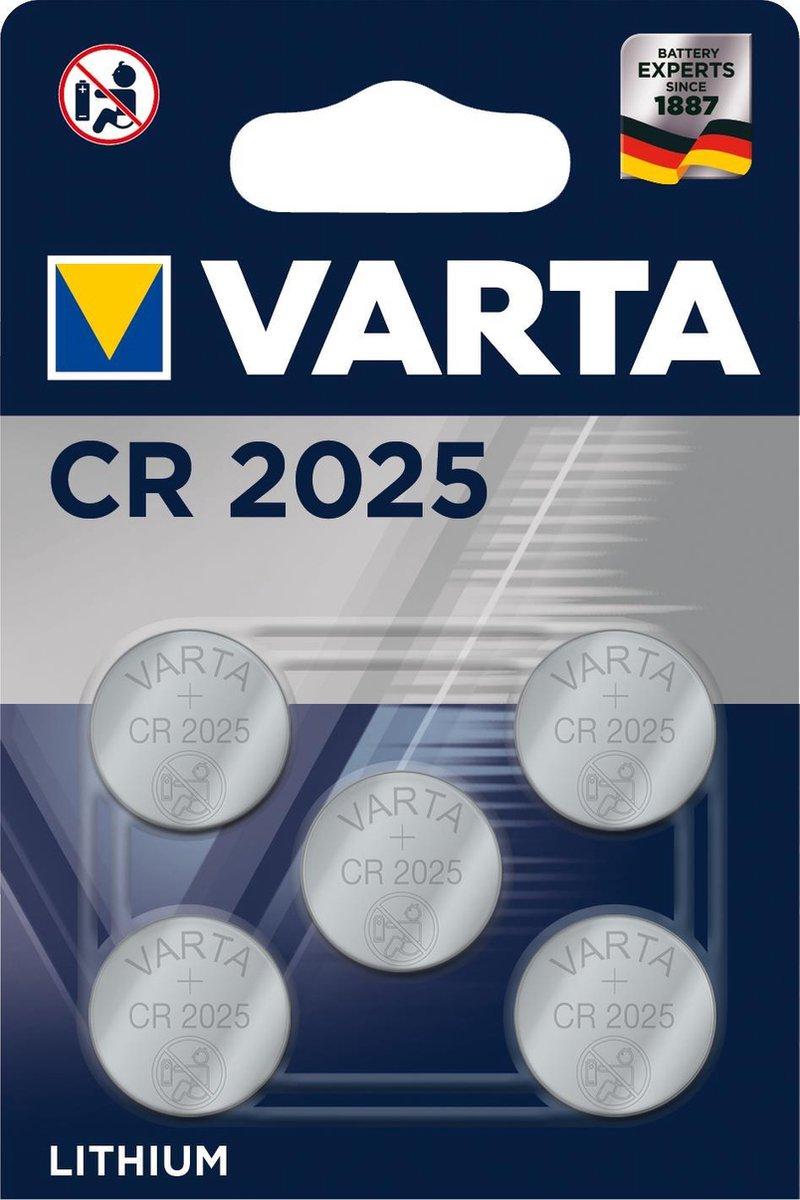 Varta CR2025 - 5 stuks