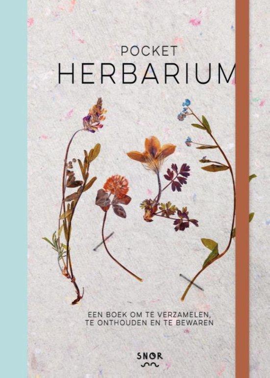 Boek cover Pocketherbarium van Saskia de Valk (Hardcover)