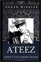 Ateez Adult Coloring Book