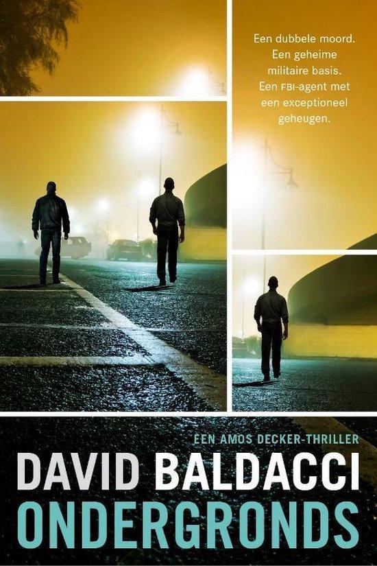Boek cover Amos Decker 6 -   Ondergronds van David Baldacci