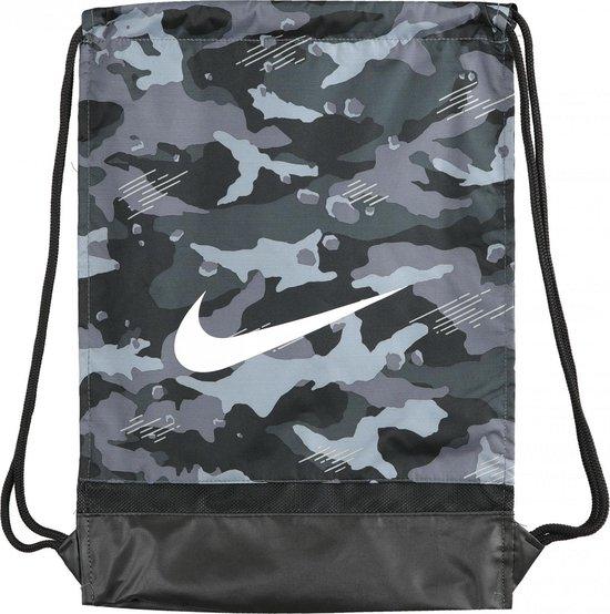 Nike Brasilia Gymtas - Camouflage groen