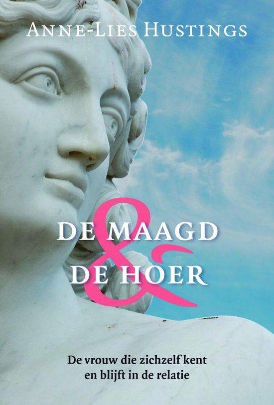 Cover van het boek 'De maagd en de hoer' van Anne-Lies Hustings