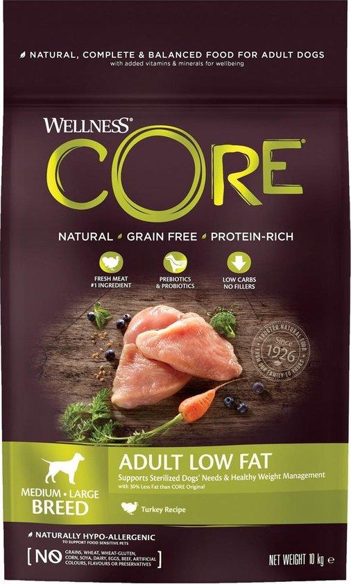 Wellness Core Grain Free Dog Healty Weight Kalkoen - 10 kg