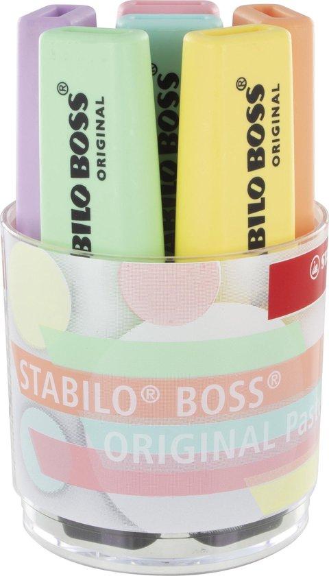 STABILO BOSS ORIGINAL Pastel Bureauset - Inhoud 6 kleuren