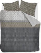 Beddinghouse Maudi - Dekbedovertrek - lits-jumeaux - 240x200/220 cm - Grijs