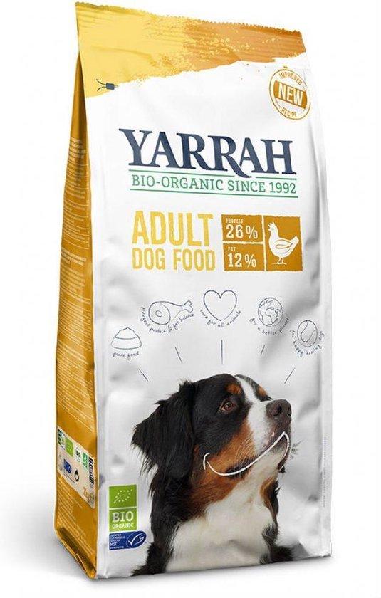 Yarrah Dog 100% - Kip - Biologisch Hondenvoer - 15 kg