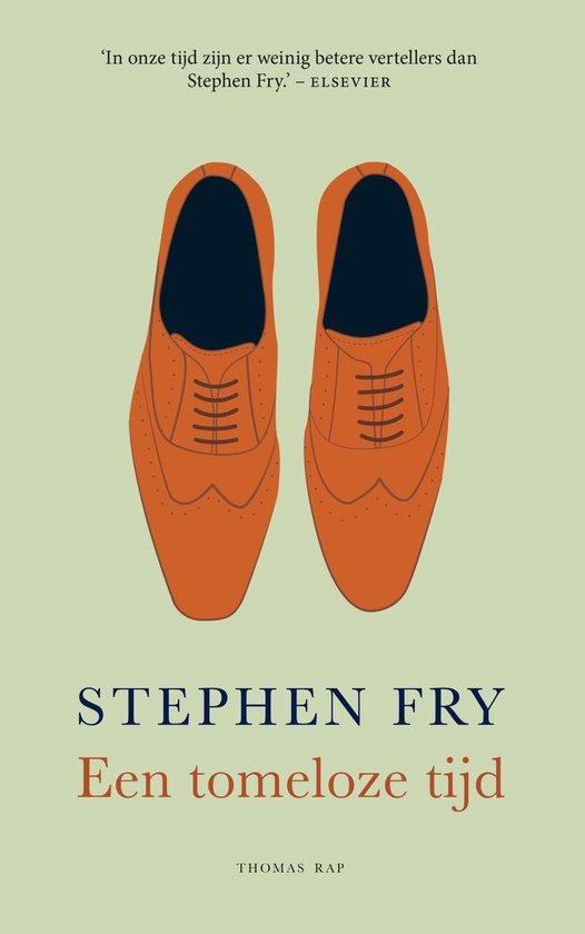 Een tomeloze tijd - Stephen Fry | Fthsonline.com