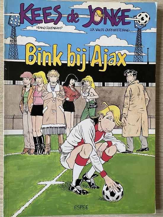 Kees de JongeBink bij AJAX (stripboek) - Eggenkamp |