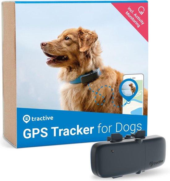 Tractive - GPS hond - Halsband - GPS tracker met activiteitstracking