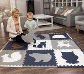 Sens Design Speelkleed Baby - XXL speelmat foam met dieren
