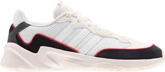 adidas 20-20 FX Sneakers - Maat 44 - Mannen - wit/ zwart/ rood