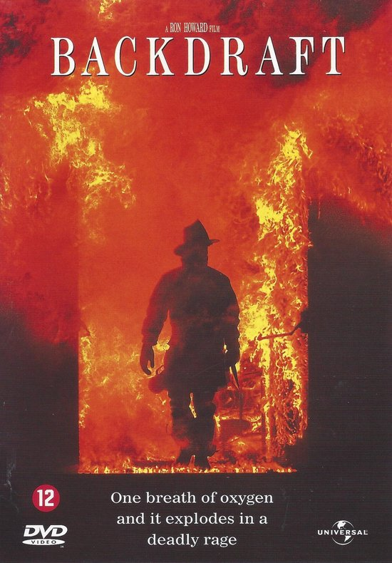 Cover van de film 'Backdraft'