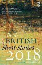 Omslag Best British Short Stories 2018