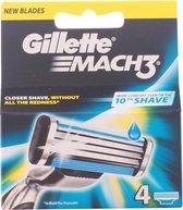 Gillette Mach3 Scheermesjes - 4 Stuks
