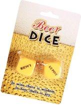2x Bier dobbelstenen