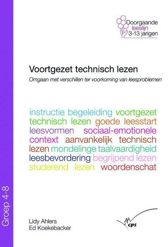 Voortgezet technisch lezen in groep 4 - 8 - L. Ahlers |