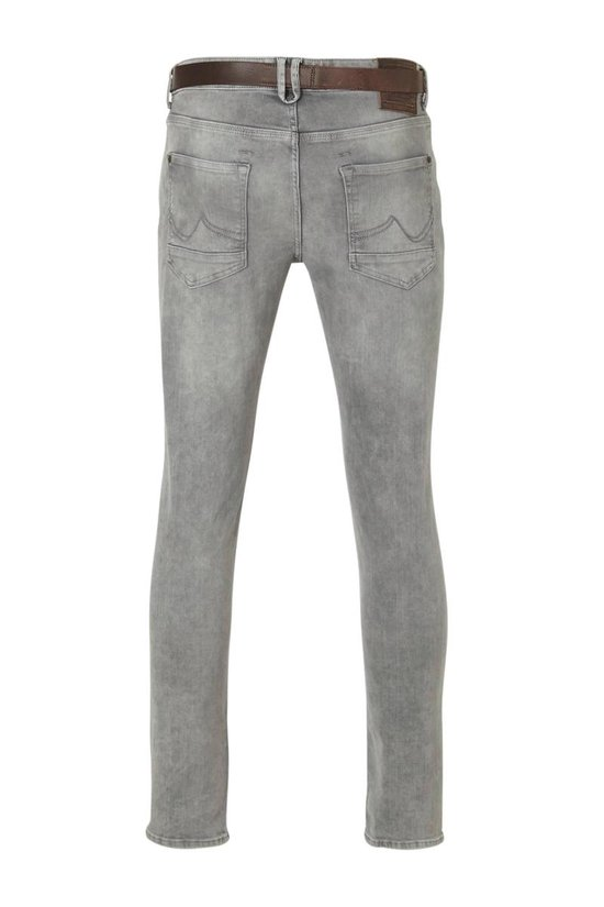 Petrol Seaham Stretch Fit Dusty Silver Heren Jeans W29 X L30