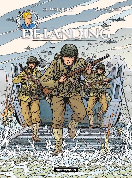 Lefranc, reportages van 01. de landing - olivier weinberg  
