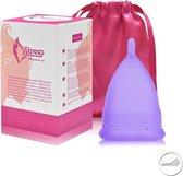Menstruatiecup Inclusief opbergzakje - Organic menstruatiecups - Menstruatiecup herbruikbaar - Melitecup L