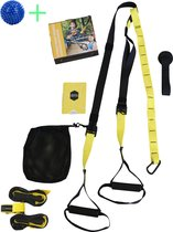 TRX - Suspension trainer - Full Body Training - Gratis Instructievideo - Draagtas - Uitleg Oefeningen