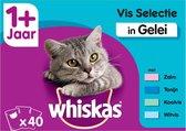 Whiskas 1+ Adult Voordeelpak Maaltijdzakjes - Vis