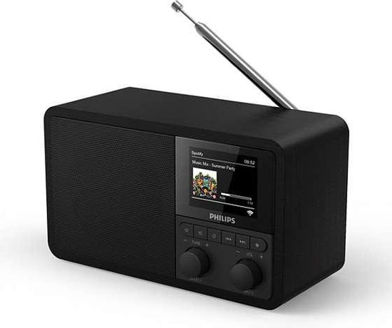 Philips TAPR802 - DAB+ internetradio - Zwart