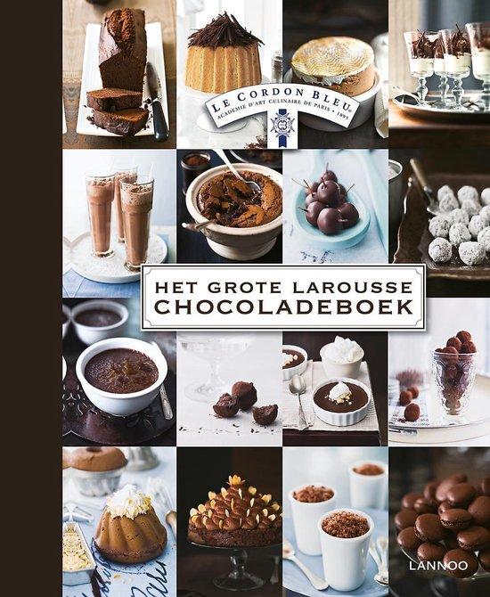 Het grote Larousse chocoladeboek - Bleu |