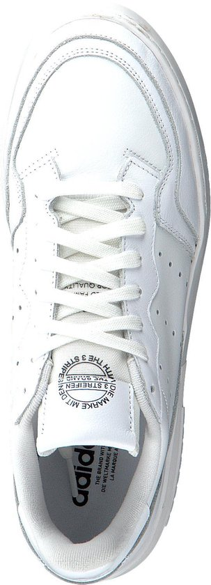 Adidas Dames Lage Sneakers Supercourt - Wit Maat 36 RM6izl