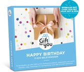 GiftForYou Cadeaubon - Happy Birthday