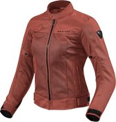 REV'IT Eclipse Lady Burgundy Red Jacket 40