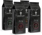 Aroma Club - Koffiebonen Proefpakket - 4 x 1KG