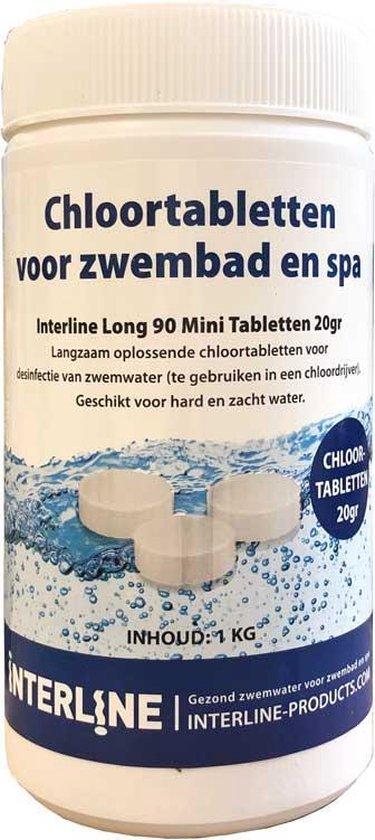Afbeelding van Interline Zwembad Interline chloortabletten - 20 grams