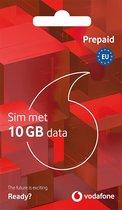 Vodafone Prepaid sim incl 10GB data