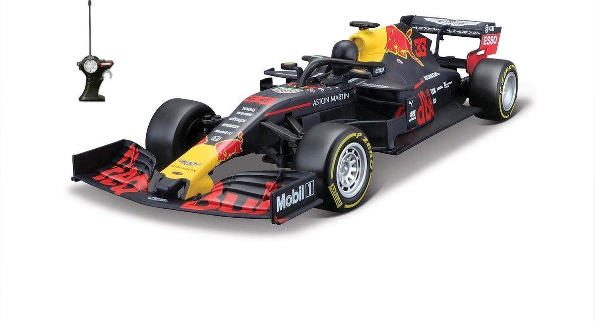 Maisto RC Radiografische Bestuurbare auto schaal 1/24 Team Red Bull F1 2019 / 2020 RB15 #33 Max Vers