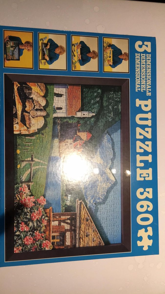 3D puzzel 360 stuks van Jumbo