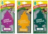 Abre Magique Luchtverfrisser 3 geuren