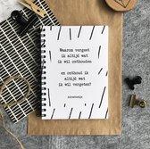 Adresboek Studio Thoés - adressenboekje - zwart/wit