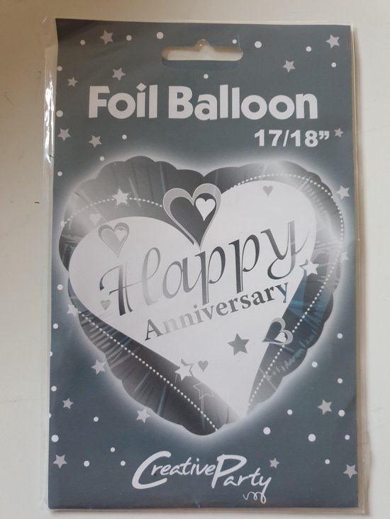 Folieballon Happy Anniversary