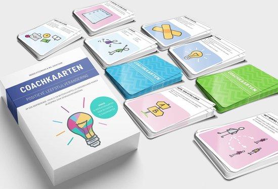 Boek cover Coachkaarten positieve leefstijlverandering van Ingrid Steenhuis