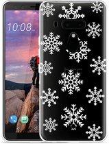 HTC U12 Plus Hoesje Snow